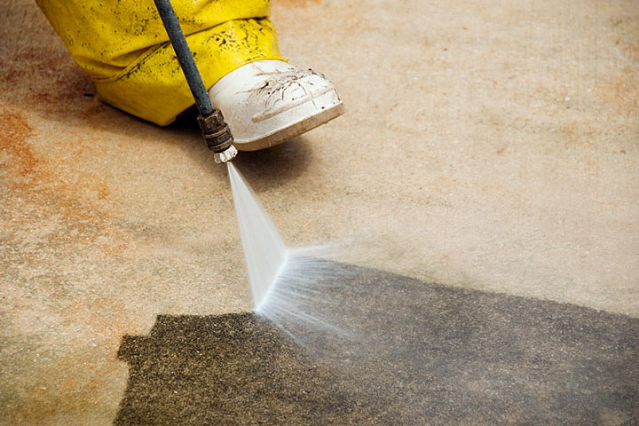 Pressure cleaning regional directory for Concrete cleaning service